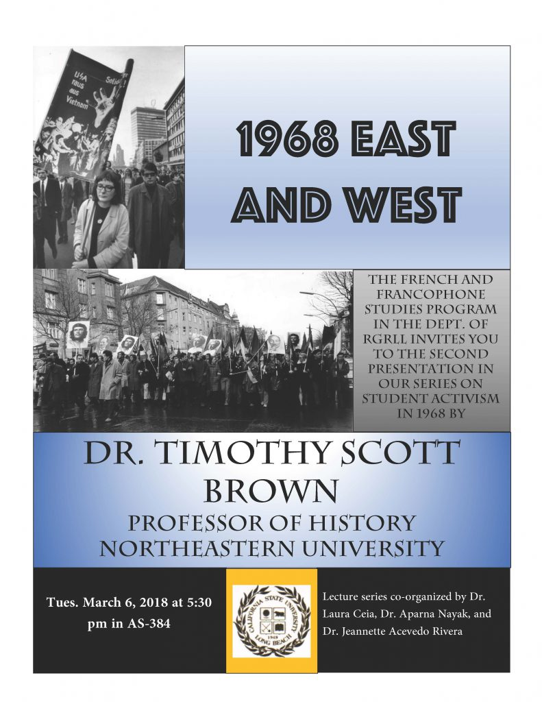 1968 East And West By Dr Timothy Brown Northeastern University
