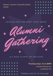 WGSS Alumni Event Save the Date