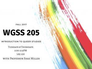 WGSS 205 2017