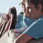 ES&P Student Andie Perez Featured in YouTube Video Highlighting Her Volunteer Work with the International Bird Rescue Center