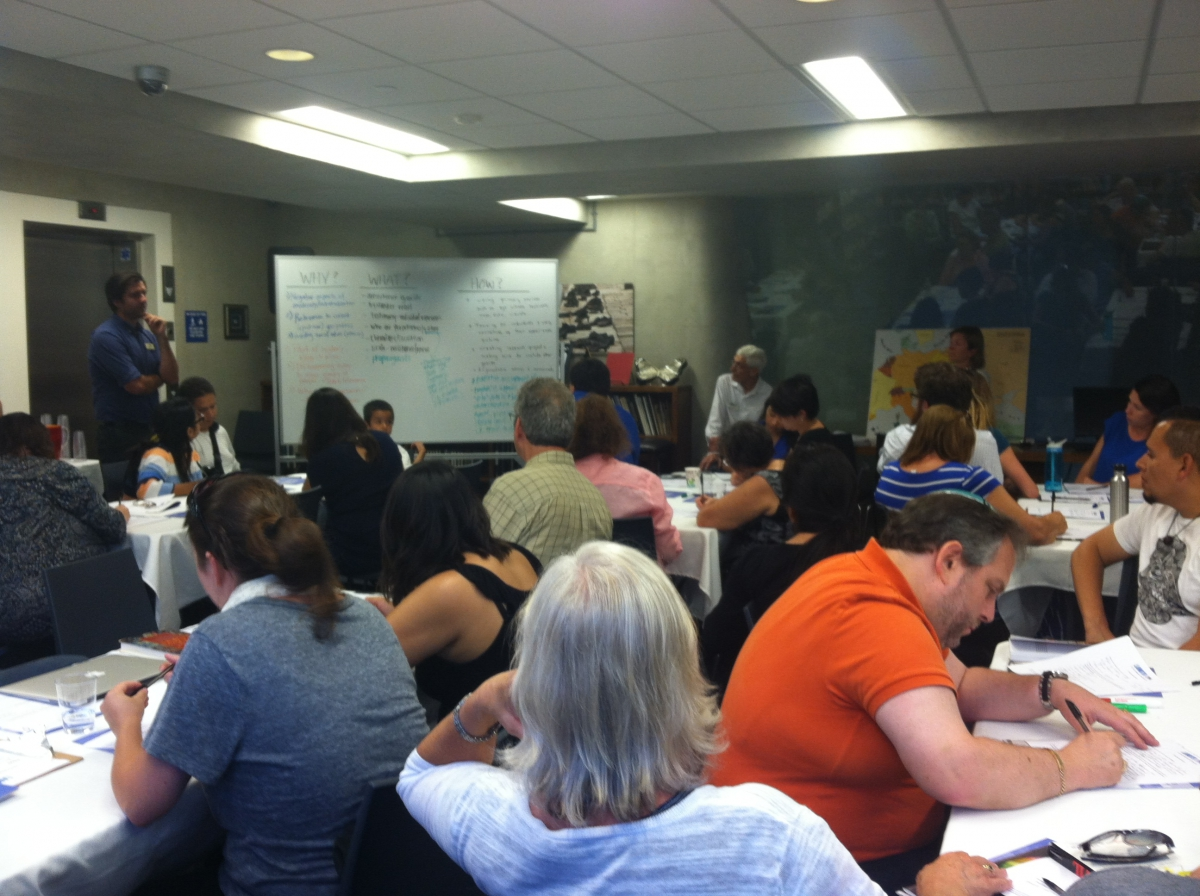 Summer 2015 Holocaust Teacher Training Workshop