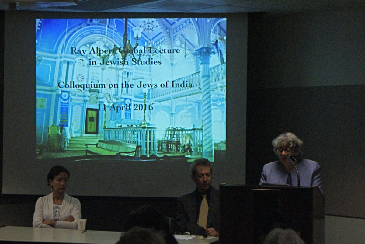 Jews in India Colloquium, April 2016