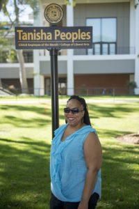 Tanisha Peoples Photo by Michael Sullivan