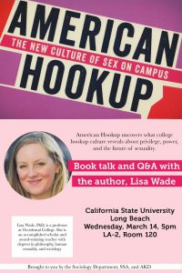 A conversation with sociologist Lisa Wade about sex and dating on college  campuses