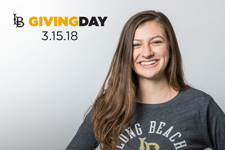 LB Giving Day, March 8, One Day. One Goal.